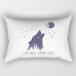 Stay Wild, Moon Child Rectangular Pillow