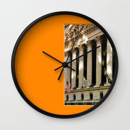 Americana - Wall Street - Manhatten - NYC Wall Clock