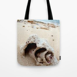 Conch on Bahama Beach Tote Bag