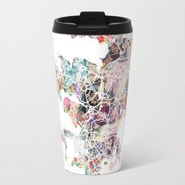 Noumea map Travel Mug