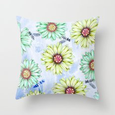 I'm an Early Bloomer Throw Pillow