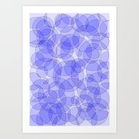 bubbles Art Prints featuring Bubbles by Warwick Wonder Works