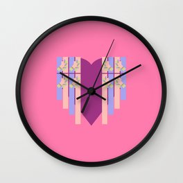 17 E=Hearty2 Wall Clock