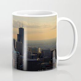 The Skyline at Dusk: From the Hancock (Chicago Architecture Collection) Coffee Mug