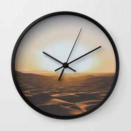 Merzouga, Morocco Wall Clock