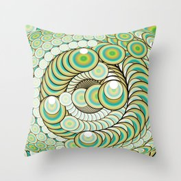 Eye of Infinity Throw Pillow