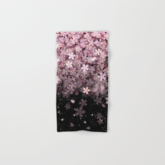 Cherry blossom #11 Hand & Bath Towel