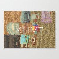klimt Canvas Prints featuring Klimt by miragoround