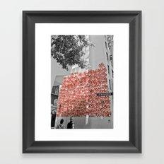 Graffiti on Abercrombie 02 Framed Art Print