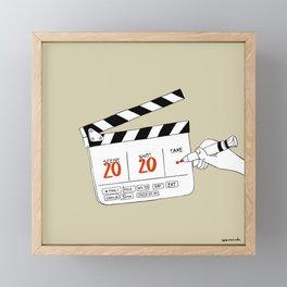 Take 2020 Framed Mini Art Print