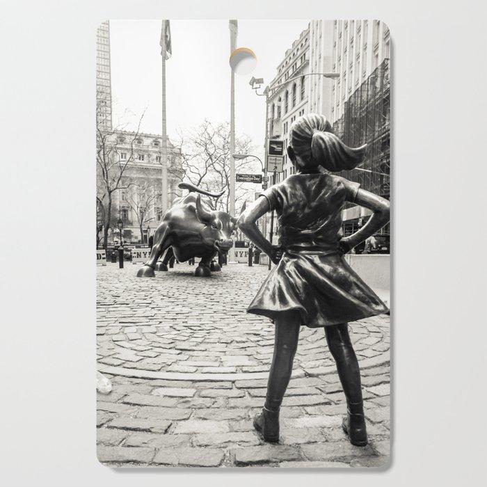 Fearless Girl & Bull - NYC Cutting Board