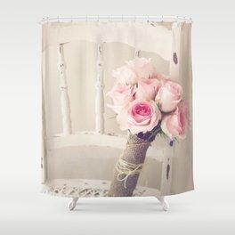 Bouquet Left Shower Curtain
