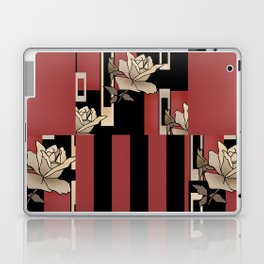 Vintage Patchwork Roses. Laptop & iPad Skin