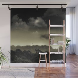 Stored in the Cloud Wall Mural