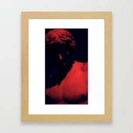 I know its you Framed Art Print