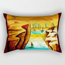 Landscape Art Rectangular Pillow