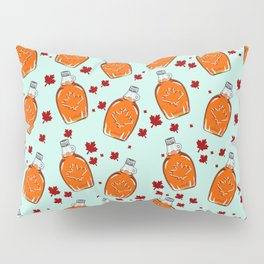 Super Canadian Maple Syrup Pattern Pillow Sham