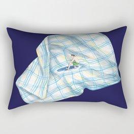 Surfing Experiment Rectangular Pillow