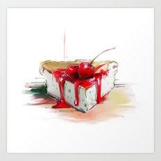 cake2 Art Print