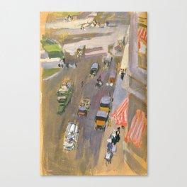 Fifth Avenue, New York by Joaquin Sorolla Canvas Print