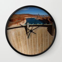 Glen Canyon Dam and Lake Powell Wall Clock
