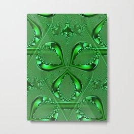 Emerald Green - HS Series Metal Print