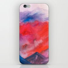 Watercolor abstract landscape 23 iPhone & iPod Skin