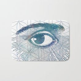 Mandala Vision Flower of Life Bath Mat