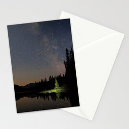 Milky Way in the Trees Stationery Cards