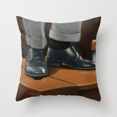 O Captain, my Captain Throw Pillow