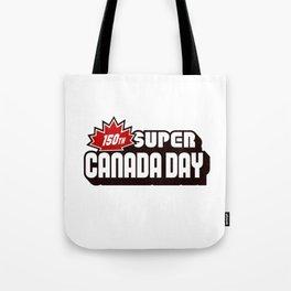 150th Super Canada Day Tote Bag