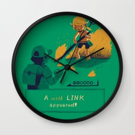 a wild link appeared Wall Clock