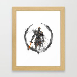 Soul of Cinder Framed Art Print