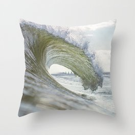 Current Mood Throw Pillow
