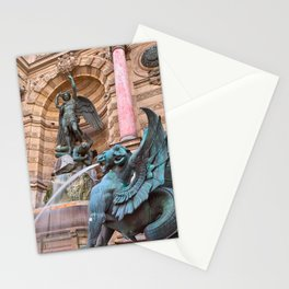 Saint-Michel Fountain Stationery Cards