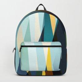 mid century geometry Backpack