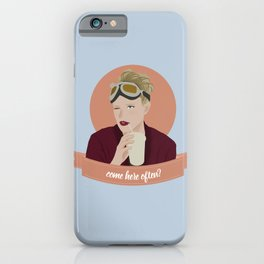come here often? iPhone Case