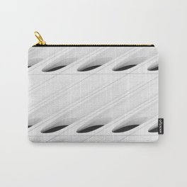 The Broad In the Afternoon Black & White Pattern Photography II Carry-All Pouch