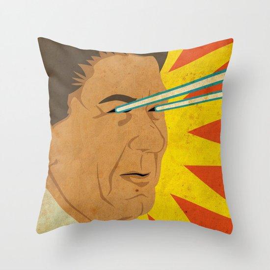 Ronald Raygun Throw Pillow