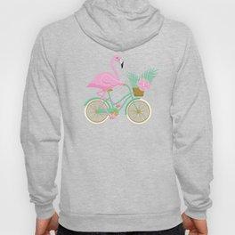 Tropical Flamingo Bike Hoody