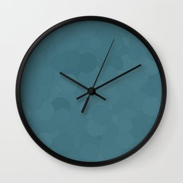 Hydro Bubble Dot Color Accent Wall Clock