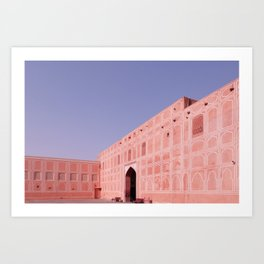 Jaipur City Palace 2 Art Print