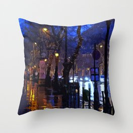 Lights up the Night Throw Pillow