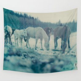 Albertan Winter Wall Tapestry