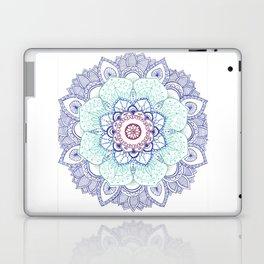Mandala Blues Laptop & iPad Skin