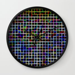 Abstract Fun 18 Wall Clock