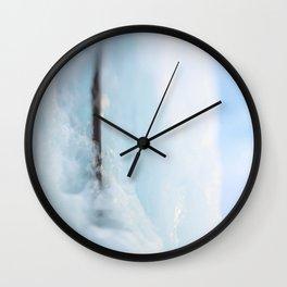 Ice wall Wall Clock