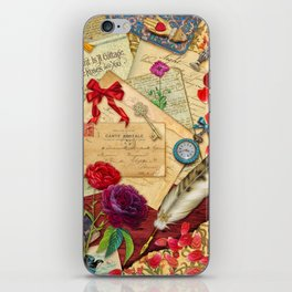 Vintage Love Letters iPhone Skin