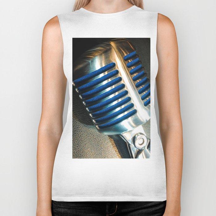 Microphone Biker Tank