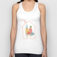 animal crossing Tank Tops featuring Animal Crossing by swallowingsmiles
